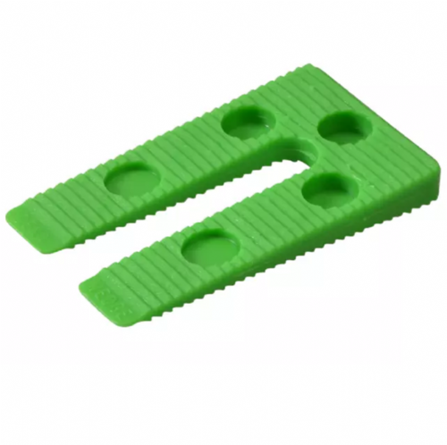 Broadfix WP1 Precision Shims Wedges Green 78 x 45mm Bag of 100